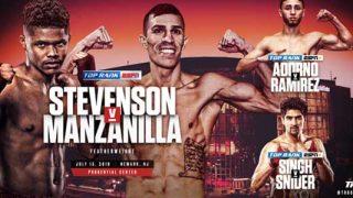 Stevenson vs Manzanilla