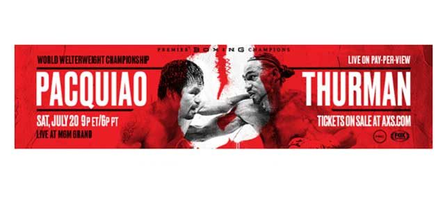 Pacquiao-Thurman Banner