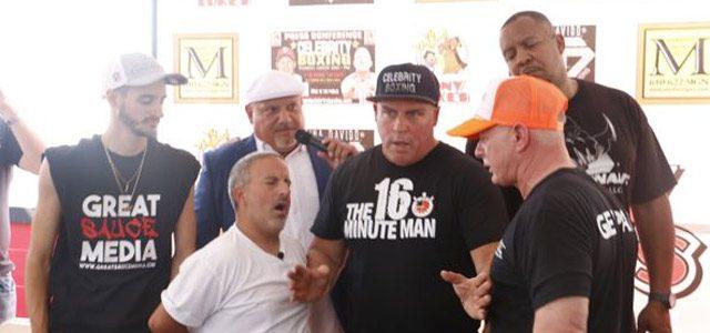 Dykstra - Morgan Celebrity Boxing