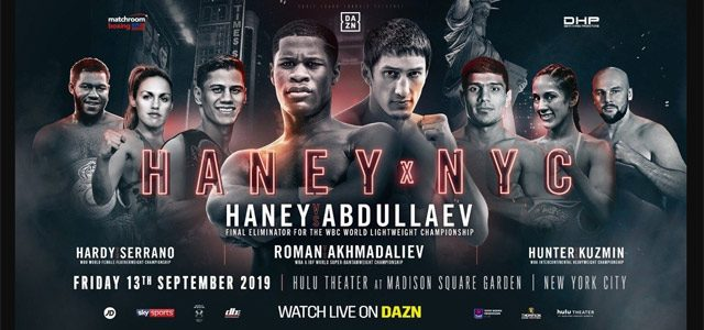 Haney - Abdullaev NYC