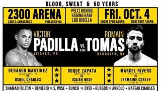 Padilla vs Tomas banner