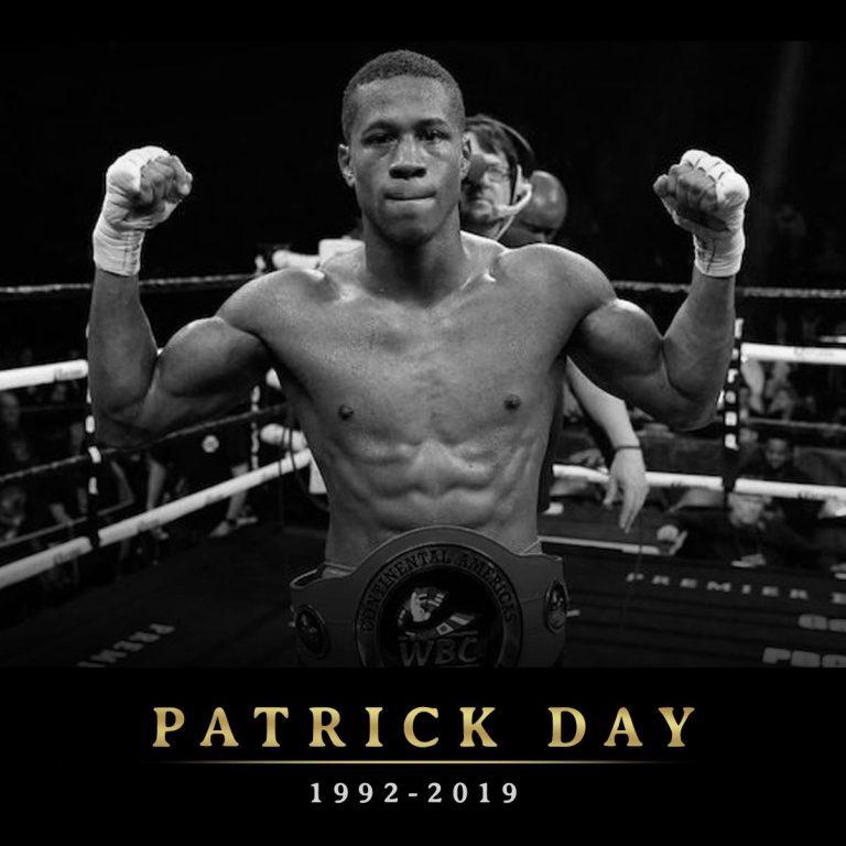 Patrick Day 1992-2019