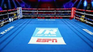 Top Rank Boxing Ring