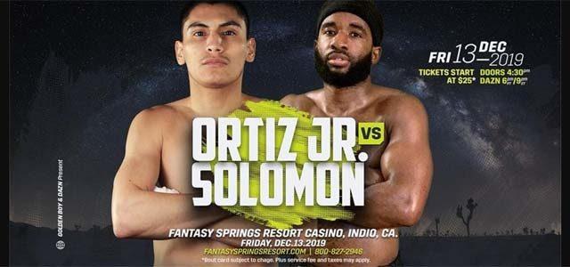 Ortiz vs Solomon banner