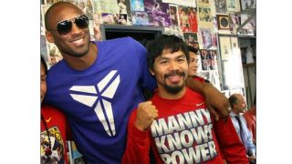 Kobe Bryant and Manny Pacquiao