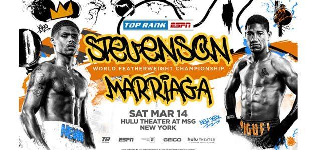Stevenson vs Marriaga promo banner