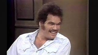 Tex Cobb on Letterman