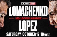 Lomachenko - Lopez