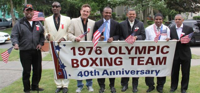 1976 Olympic Boxing 40th Anniversary