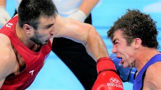 Jalolov at 2021 Olympics
